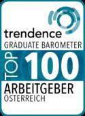 trendence Graduate Barometer Top 100 Arbeitgeber Österreich
